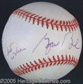 """Miscellaneous, GEORGE H. W. BUSH-SIGNED BASEBALL W/ """"BEST WISHES"""". A nicely ..."""