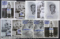 Miscellaneous, (10) AUTOGRAPHED PHOTOS OF NEGRO LEAGUE BASEBALL PLAYERS. Bac...
