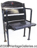 Miscellaneous, FENWAY PARK SEAT. At a cost of $650,000 Fenway Park opened in...