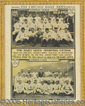 Miscellaneous, CHICAGO DAILY NEWS SUPPLEMENT FEATURING 1906 CUBS AND WHITE SOX....