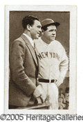 Miscellaneous, 1932 BULGARIA TOBACCO OF BABE RUTH & MAX SCHMELLING CARD.Thi...