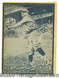 Miscellaneous, 1931 W517 #4 BABE RUTH. Issued in 1931, W517 is a star studded s...