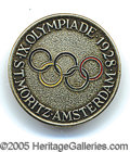 Miscellaneous, 1928 OLYMPICS PIN. The first Winter Olympics were held in 1924 i...
