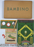 "Miscellaneous, ""BAMBINO"" BASEBALL GAME. For those unfamiliar with the Bambino B..."