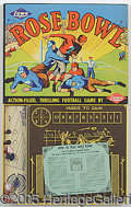Miscellaneous, ROSE BOWL (E.S. LOWE). This easy-to-play yet highly detailed foo...