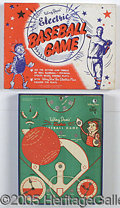 """Miscellaneous, """"WIRY DAN'S"""" ELECTRIC BASEBALL GAME. This is a 1950's baseball g..."""