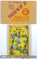 "Miscellaneous, ""POOSH-M-UP JR."". Complete with the graphics of Keystone Cops, c..."