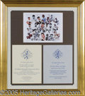 Miscellaneous, THREE OUTSTANDING TED WILLIAMS AUTOGRAPH DISPLAY UNITS. 1)Sev...