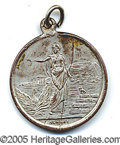 Miscellaneous, RARE 1896 OLYMPICS MEDAL. Participant's medal from the 1st moder...
