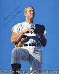 Miscellaneous, MICKEY MANTLE DAY AUTOGRAPHED PROGRAM. How do you say goodbye...
