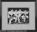 Miscellaneous, 1960'S YANKEE INFIELD FRAMED AUTOGRAPHED PHOTO. Autographed 8...