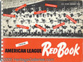 Miscellaneous, (57) AMERICAN LEAGUE RED BOOKS. Here is an outstanding lot of...