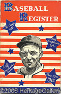 Miscellaneous, (62) SPORTING NEWS BASEBALL REGISTERS 1940-2000. Here is an i...