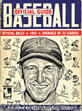 Miscellaneous, (57) SPINK & SPORTING NEWS BASEBALL GUIDES 1942-1998. Thesew...