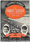Miscellaneous, (40) FAMOUS SLUGGER YEARBOOKS 1939-78. Filled with wonderful ...