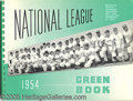 Miscellaneous, (52) NATIONAL LEAGUE GREEN BOOKS. This is a lot of National L...
