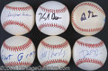 Miscellaneous, GREAT GROUP LOT OF BALLS SIGNED BY POLITICIANS AND PRESIDENTIAL ...