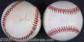 Miscellaneous, TWO PRESIDENTIAL SIGNED BALLS. In keeping witha tradition ...