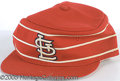 Miscellaneous, RED SCHOENDIENST CARDINAL CAP. In the mid-70's the Cardinals mod...