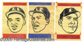 Miscellaneous, 1965 TOPPS TRANSFERS NEAR SET. Among the scarcer inserts of t...