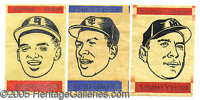 1965 TOPPS TRANSFERS NEAR SET. P Among the scarcer inserts of the 1960's was Topp's issuance of a production kn...