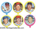 Miscellaneous, 1973 TOPPS CANDY LIDS SET.  Among the r...