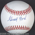 Miscellaneous, GERALD FORD SIGNED BALL. The collector in pursuit of unqualif...