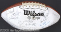 Miscellaneous, ST. LOUIS CARDINAL SIGNED FOOTBALL. In their tenure between C...