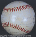 Miscellaneous, LEE WEYER SIGNED BALL. In his 27th season as a National Leagu...