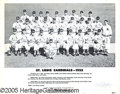 "Miscellaneous, THE 1955 CARDINALS. This 8"" x 10"" composite photo of St. Loui..."