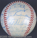 Miscellaneous, YANKEES SIGNED BALL. It's impossible to provide a definitive ...