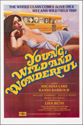 "Movie Posters:Bad Girl, Young, Wild and Wonderful (Gail Film, 1981). Folded, Very Fine/Near Mint. One Sheet (25"" X 38""). Bad Girl.. ..."