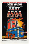 """Movie Posters:Rock and Roll, Rust Never Sleeps (International Harmony, 1979). Folded, Very Fine-. One Sheet (27"""" X 41""""). Rock and Roll.. ..."""