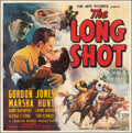 """Movie Posters:Sports, The Long Shot (Grand National, 1939). Fine on Linen. Six Sheet (80.5"""" X 79.5""""). Sports.. ..."""