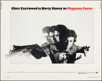 """Magnum Force & Other Lot (Warner Bros., 1973). Rolled, Overall: Very Fine. Half Sheets (2) (22"""" X 28""""). Ac..."""