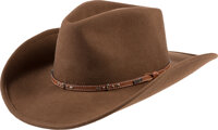 Walt Disney World The Great Movie Ride Cast Member Costume Cowboy Hat (Walt Disney, c. 1990s-2000s)