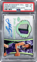 Basketball Cards:Singles (1980-Now), 2005 UD Exquisite Collection Andrew Bogut (Noble Nameplates Autographs) #NNAB PSA NM-MT 8 - #'d 22/25. ...