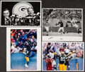 Football Collectibles:Photos, 1986-93 Green Bay Packers Legendary Moments Original Press Photographs, Lot of 4. ... (Total: 4 items)