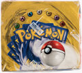 Memorabilia:Trading Cards, Pokémon Shadowless Edition Base Set Sealed Booster Box (Wizards of the Coast, 1999)....