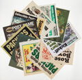 Football Collectibles:Others, Green Bay Packers Coverage Newspaper Displays, Lot of 20. ...