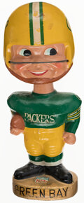 Football Collectibles:Others, 1960s Green Bay Packers Nodder....