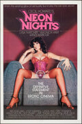 """Movie Posters:Adult, Neon Nights & Other Lot (Command Cinema, 1981). Folded, Very Fine. One Sheets (2) (25"""" X 38"""" & 27"""" X 41"""") & Uncut Pressbook ... (Total: 3 Items)"""