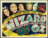 "The Wizard of Oz (MGM, 1939). Fine+. Title Lobby Card (11"" X 14"") Al Hirschfeld Title Artwork"