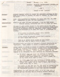 Movie/TV Memorabilia:Documents, Gone With the Wind Leslie Howard Contract (1939)....