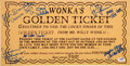 Movie/TV Memorabilia:Autographs and Signed Items, Willy Wonka and the Chocolate Factory Cast Signed Golden Ticket....