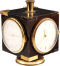 Movie/TV Memorabilia:Memorabilia, Marlene Dietrich Owned Rotating Desktop Timepiece....