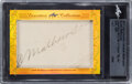 Autographs:Sports Cards, Signed 2017 Leaf Executive Collection Masterpiece Christy Mathewson #'d 1/1. ...