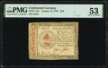 Colonial Notes:Continental Congress Issues, Continental Currency January 14, 1779 $70 PMG About Uncirculated 53.. ...