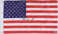 Autographs:Others, Navy SEAL Robert O'Neil Signed American Flag. ...
