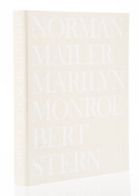 Norman Mailer and Bert Stern (American, 1923-1997) Marilyn Monroe (Collector's Edition), 2012 Hardcover in custom text...